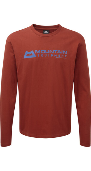 Mountain M's Equipment Branded LS Tee Henna